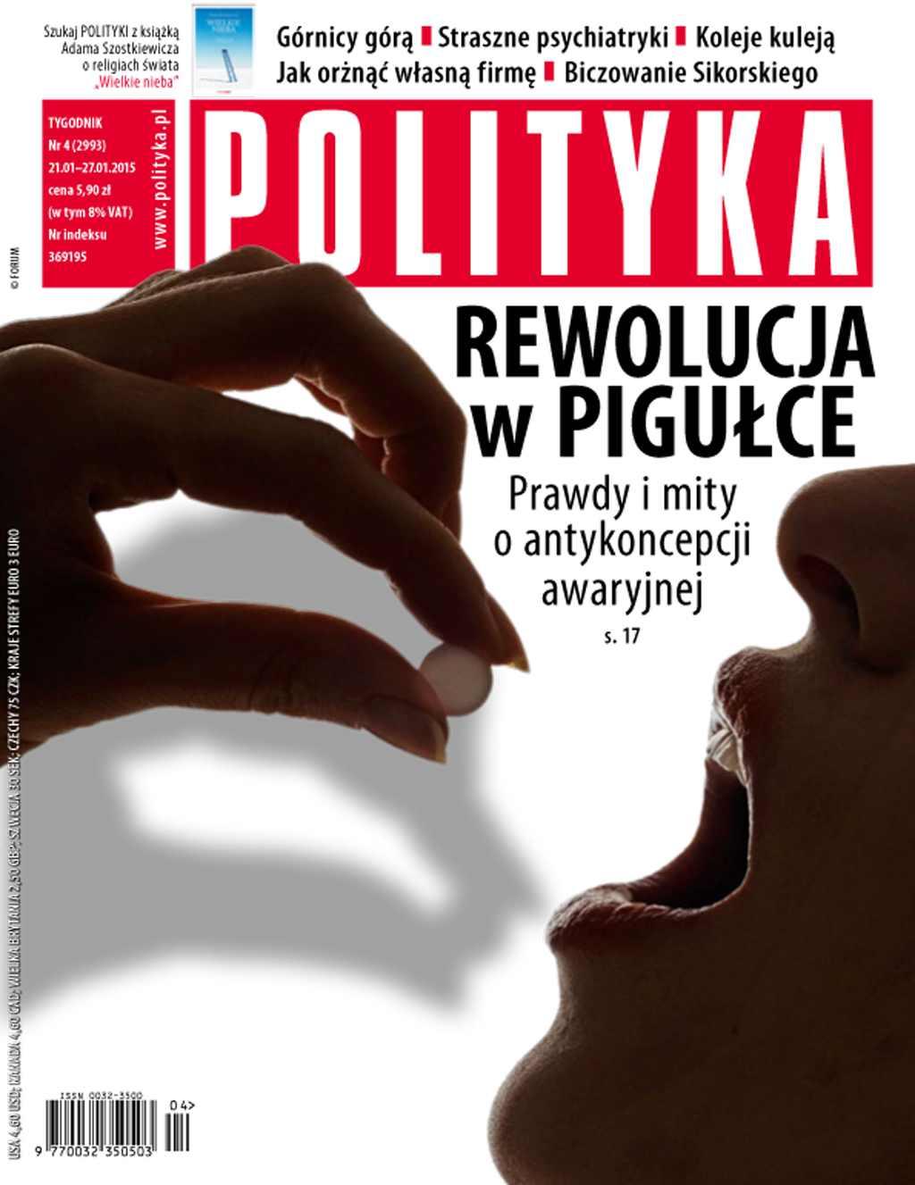 Polityka nr 4/2015 - Ebook (Książka PDF) do pobrania w formacie PDF
