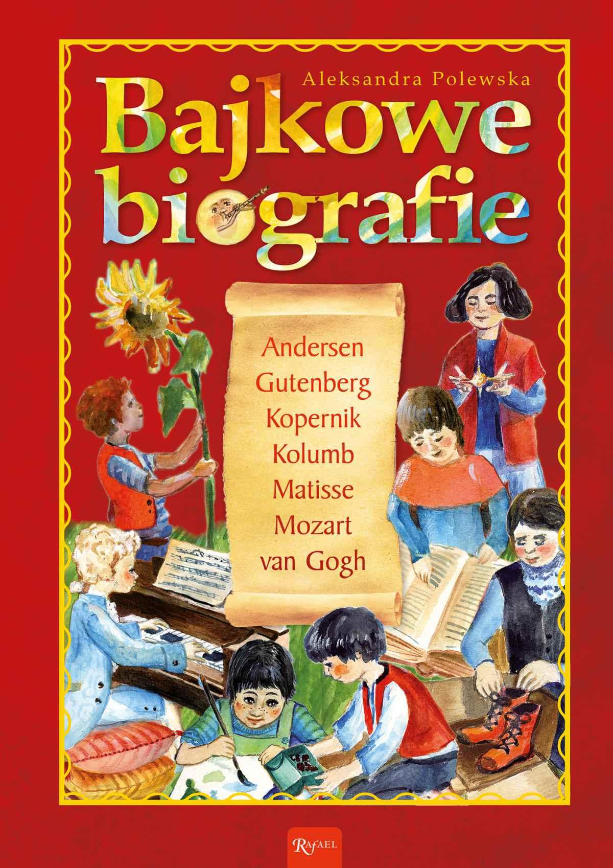 Bajkowe biografie - Ebook (Książka na Kindle) do pobrania w formacie MOBI