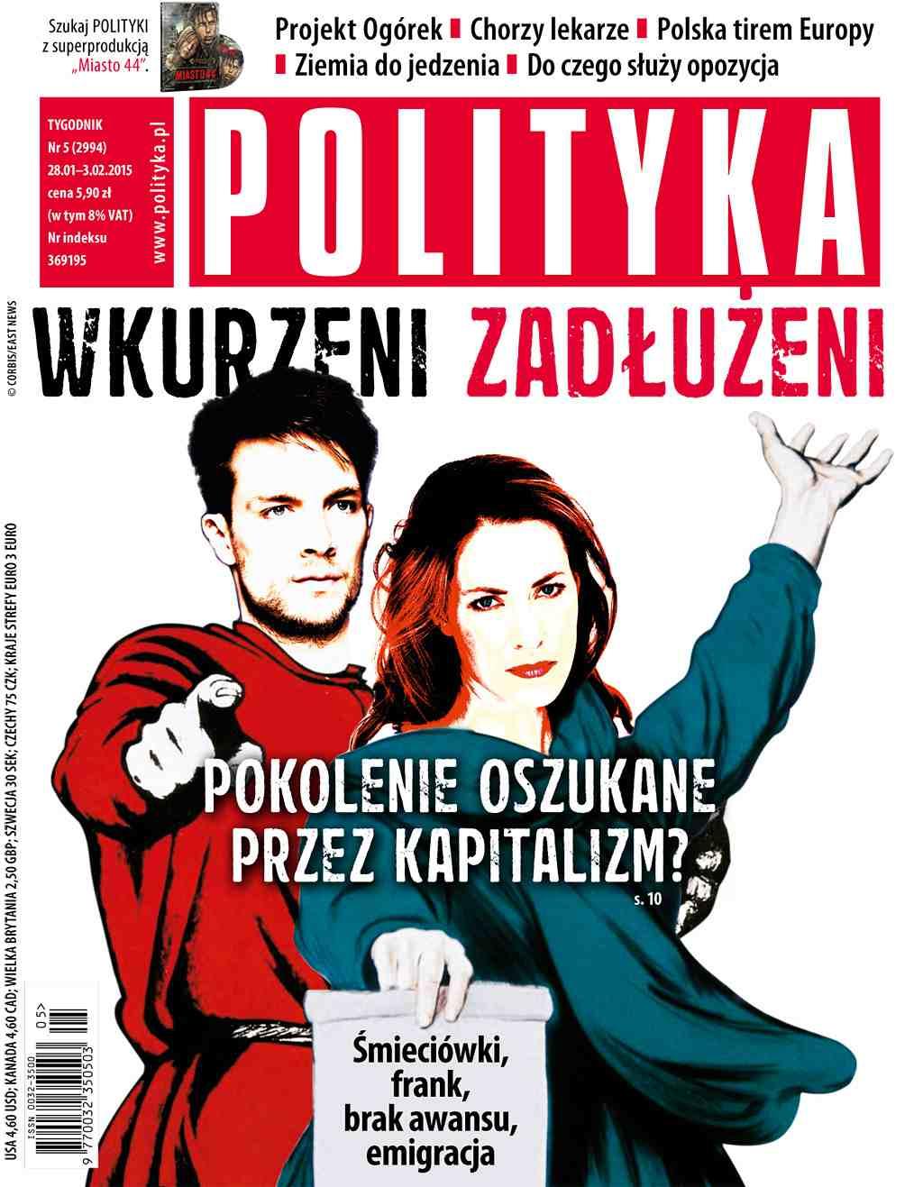 Polityka nr 5/2015 - Ebook (Książka PDF) do pobrania w formacie PDF