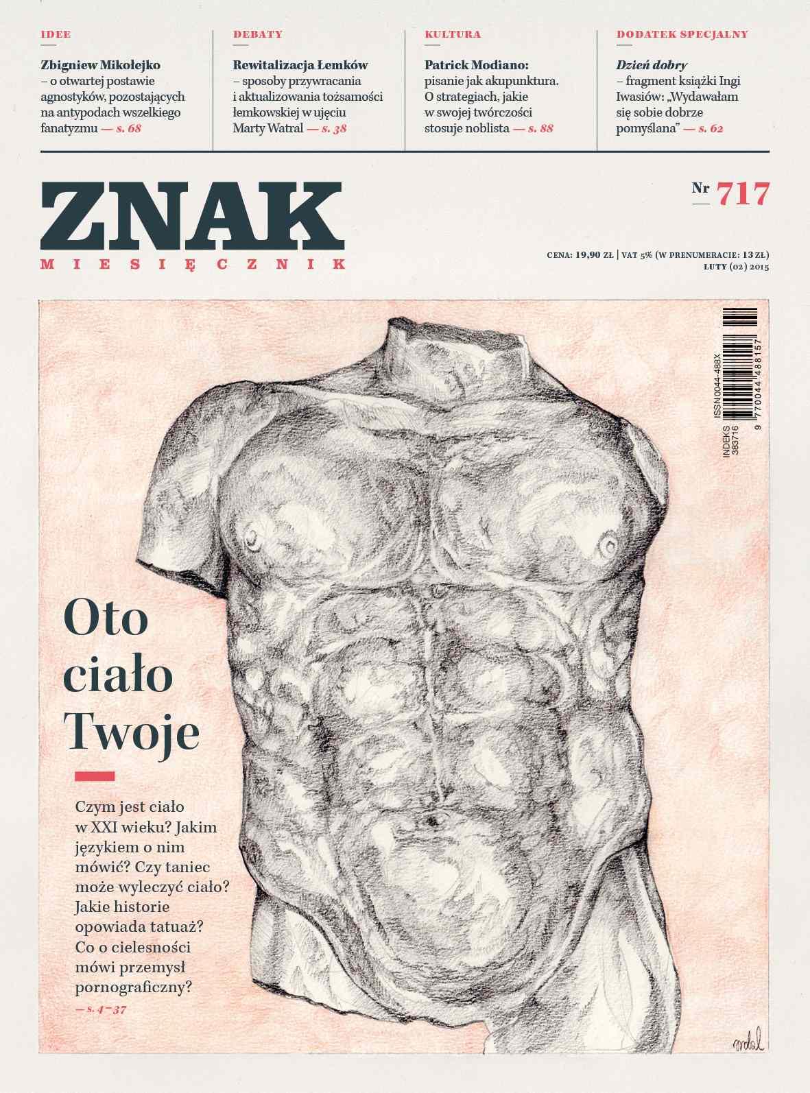 Miesięcznik Znak. Luty 2015 - Ebook (Książka EPUB) do pobrania w formacie EPUB