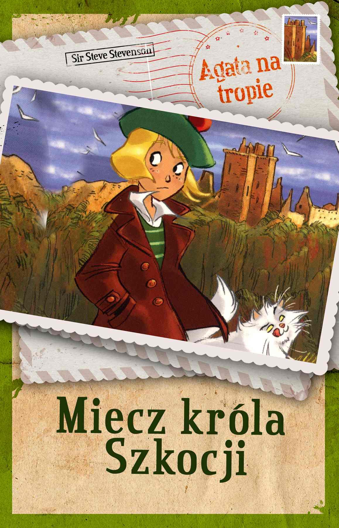 Agata na tropie. Miecz króla Szkocji - Ebook (Książka na Kindle) do pobrania w formacie MOBI