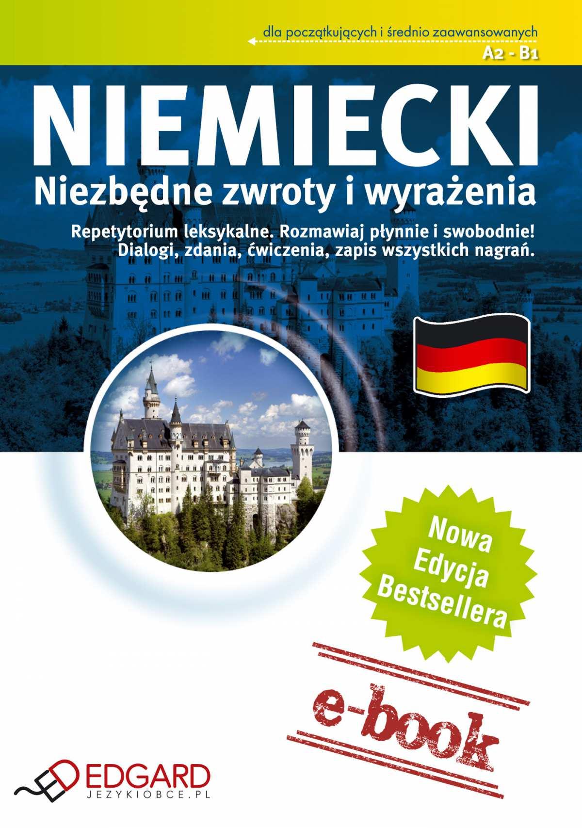 Niemiecki - Niezbędne zwroty i wyrażenia - Ebook (Książka EPUB) do pobrania w formacie EPUB