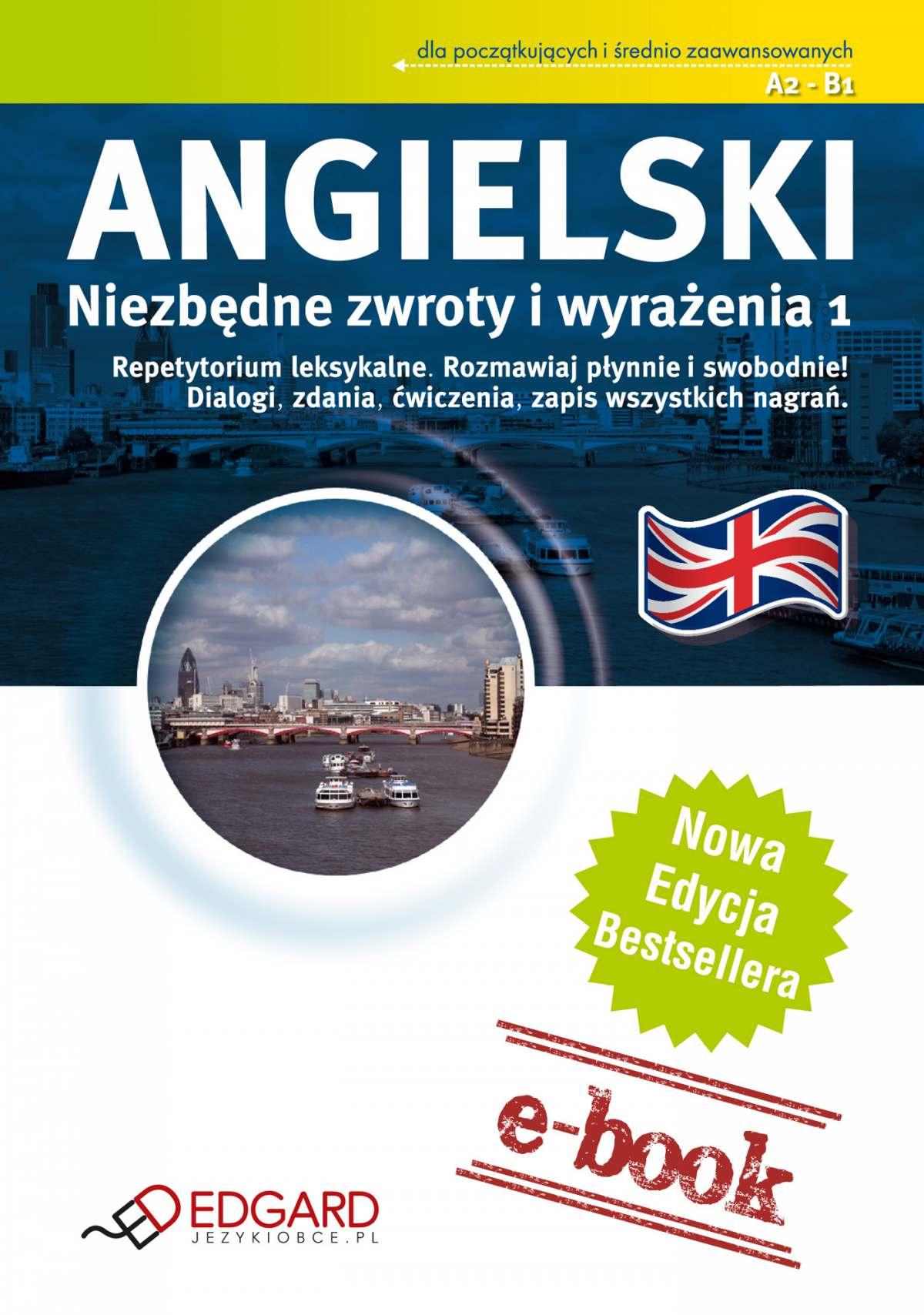 Angielski - Niezbędne zwroty i wyrażenia - Ebook (Książka na Kindle) do pobrania w formacie MOBI
