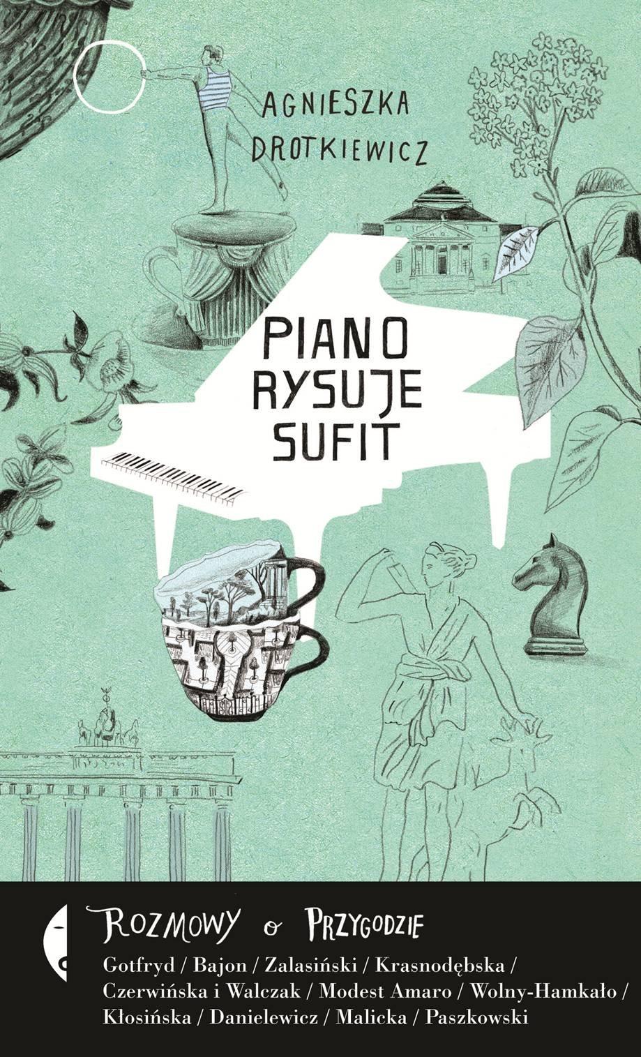 Piano rysuje sufit - Ebook (Książka EPUB) do pobrania w formacie EPUB