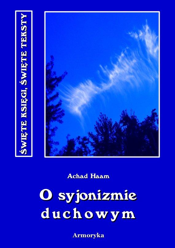 O syjonizmie duchowym - Ebook (Książka PDF) do pobrania w formacie PDF