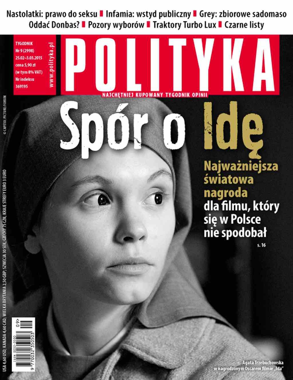Polityka nr 9/2015 - Ebook (Książka PDF) do pobrania w formacie PDF