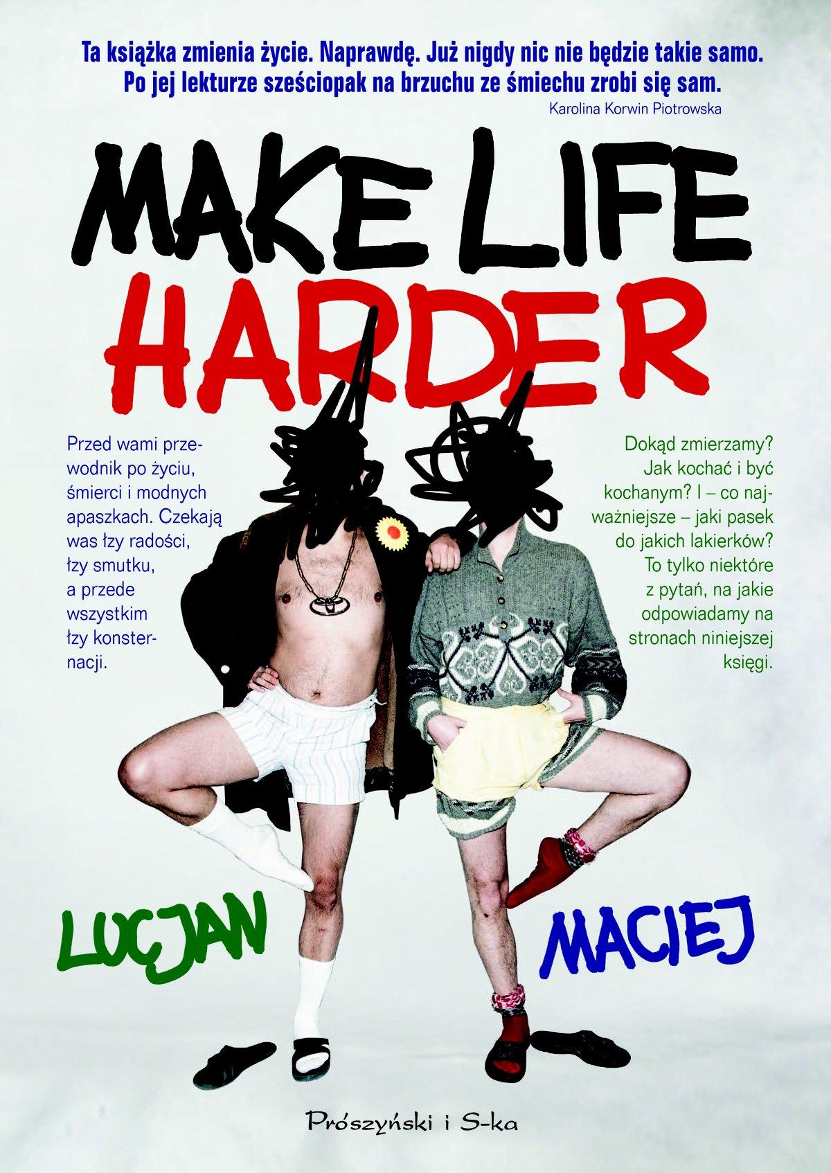 Make Life Harder - Ebook (Książka EPUB) do pobrania w formacie EPUB