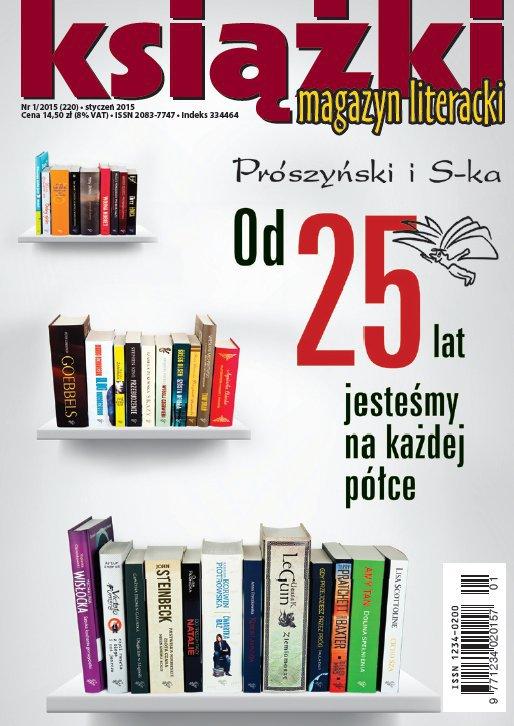 Magazyn Literacki KSIĄŻKI 1/2015 - Ebook (Książka PDF) do pobrania w formacie PDF