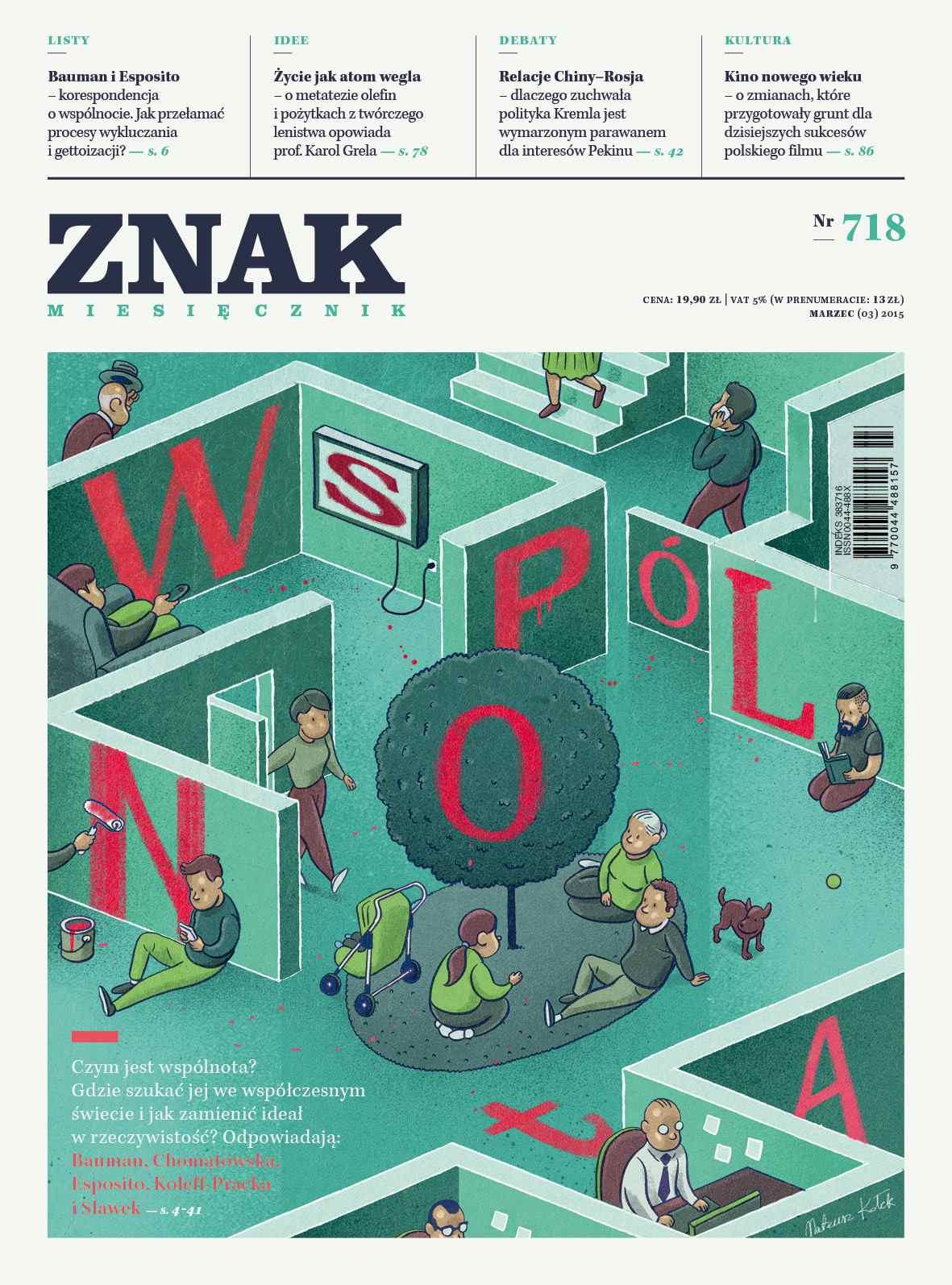 Miesięcznik Znak. Marzec 2015 - Ebook (Książka na Kindle) do pobrania w formacie MOBI