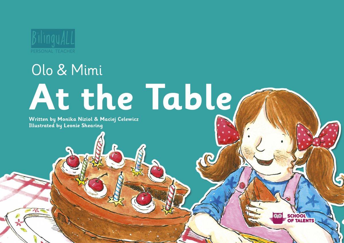At the Table. Nauka angielskiego dla dzieci 2-7 lat - Ebook (Książka EPUB) do pobrania w formacie EPUB