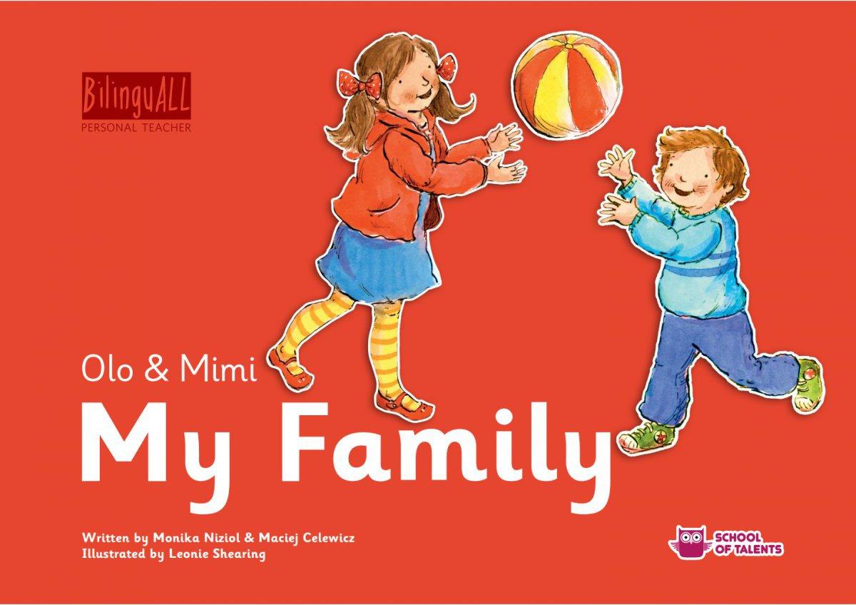 My Family. Nauka angielskiego dla dzieci 2-7 lat - Ebook (Książka na Kindle) do pobrania w formacie MOBI