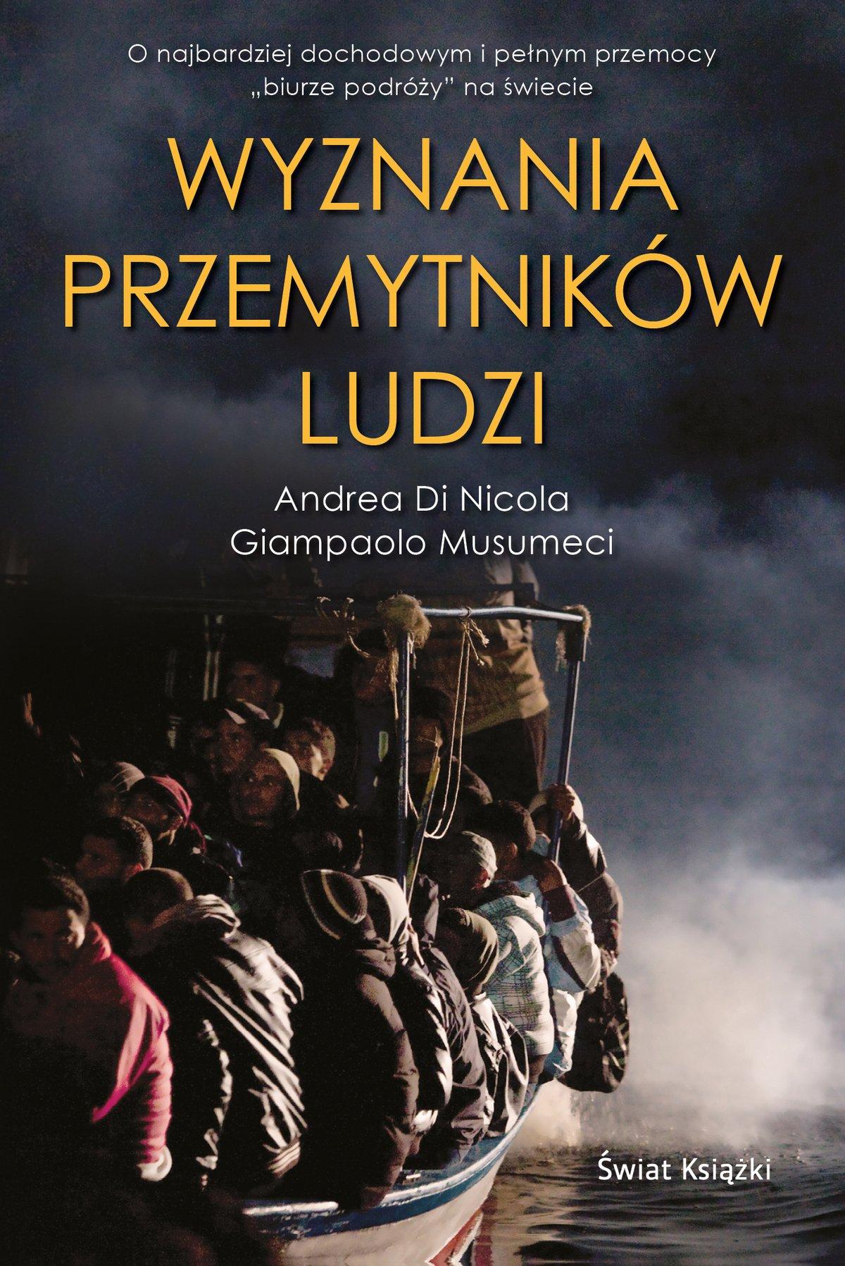 Wyznania przemytników ludzi - Ebook (Książka EPUB) do pobrania w formacie EPUB