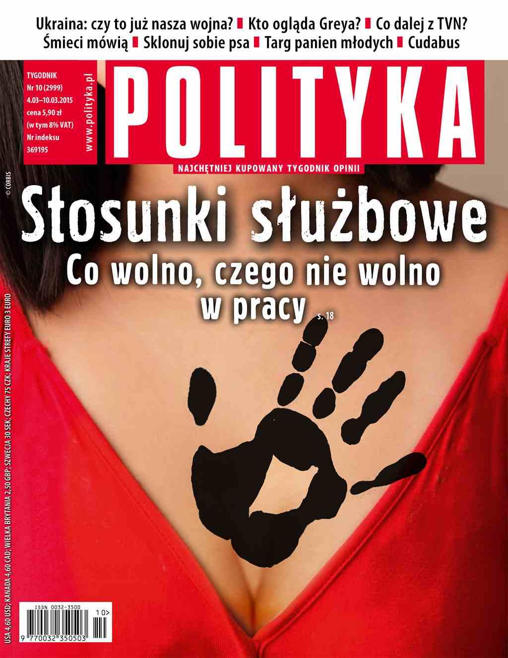 Polityka nr 10/2015 - Ebook (Książka PDF) do pobrania w formacie PDF
