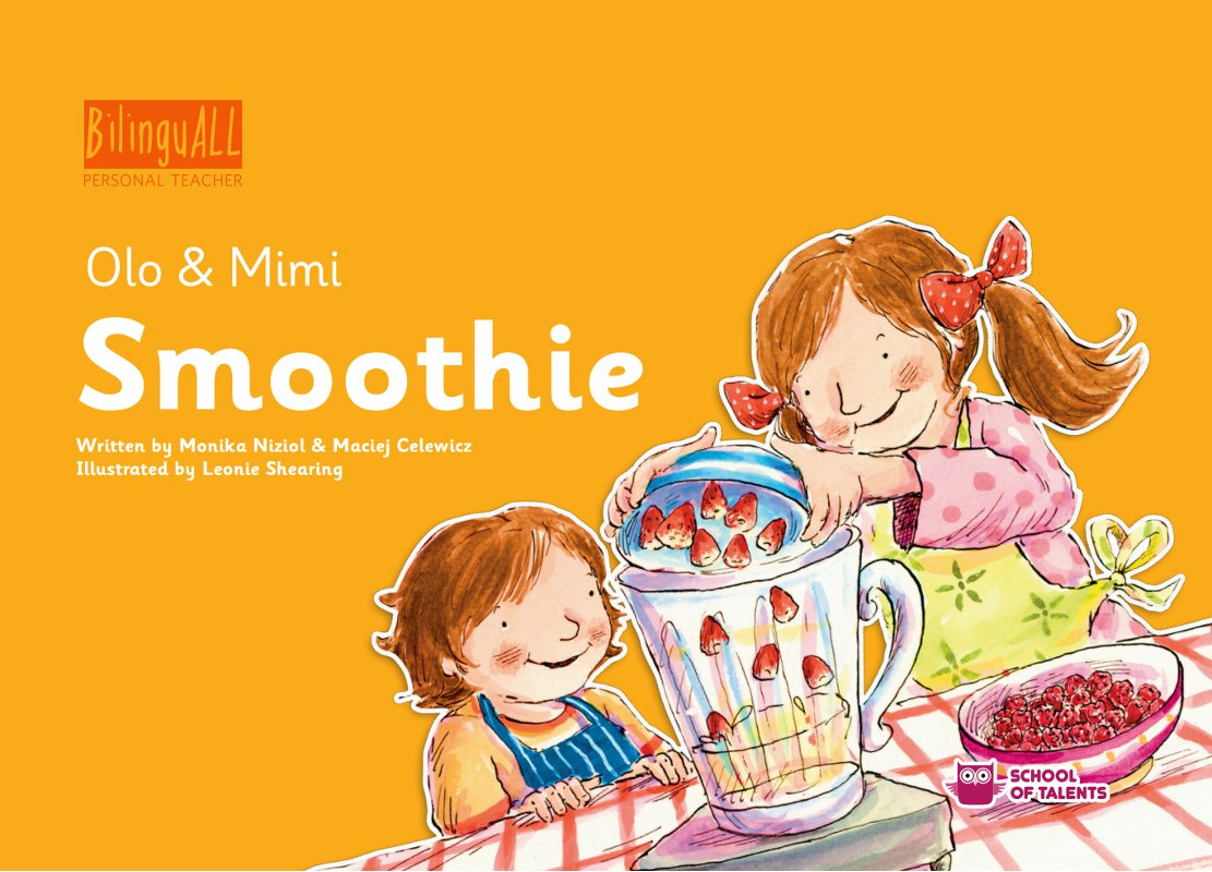Smoothie. Nauka angielskiego dla dzieci 2-7 lat - Ebook (Książka na Kindle) do pobrania w formacie MOBI