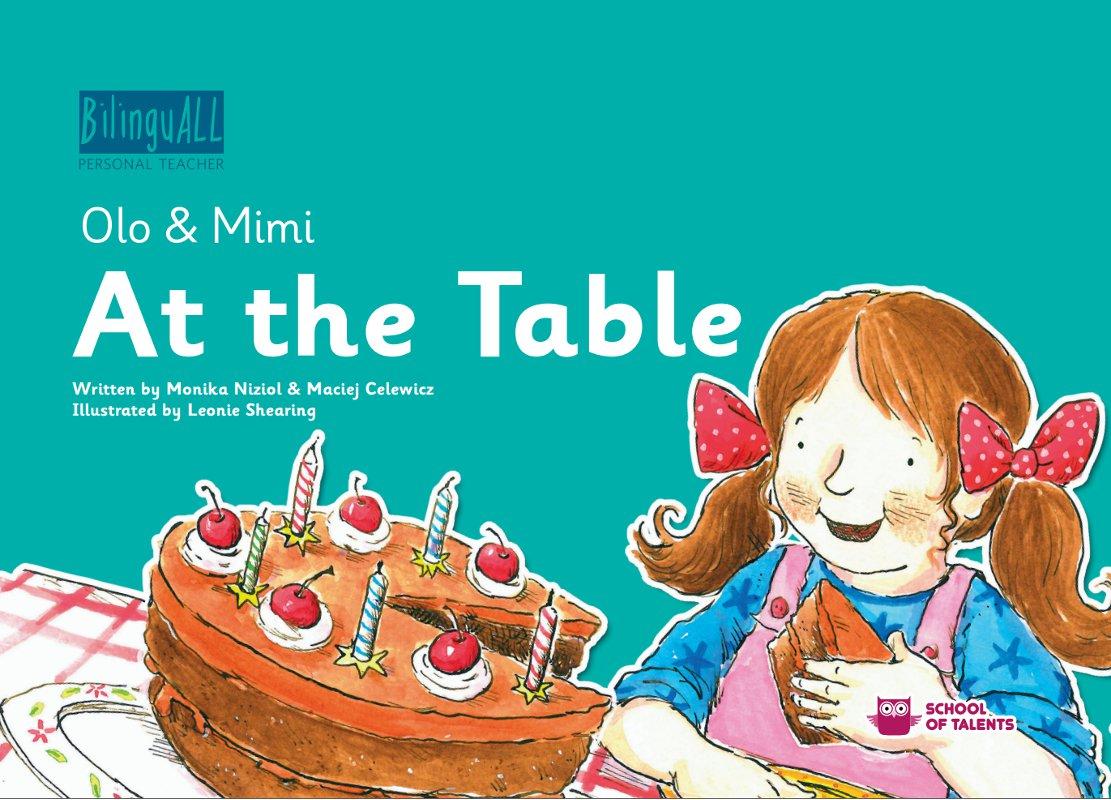 At the Table. Nauka angielskiego dla dzieci 2-7 lat - Ebook (Książka na Kindle) do pobrania w formacie MOBI