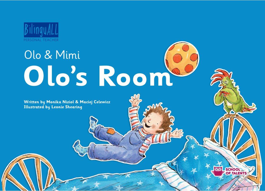 Olo's Room. Nauka angielskiego dla dzieci 2-7 lat - Ebook (Książka na Kindle) do pobrania w formacie MOBI