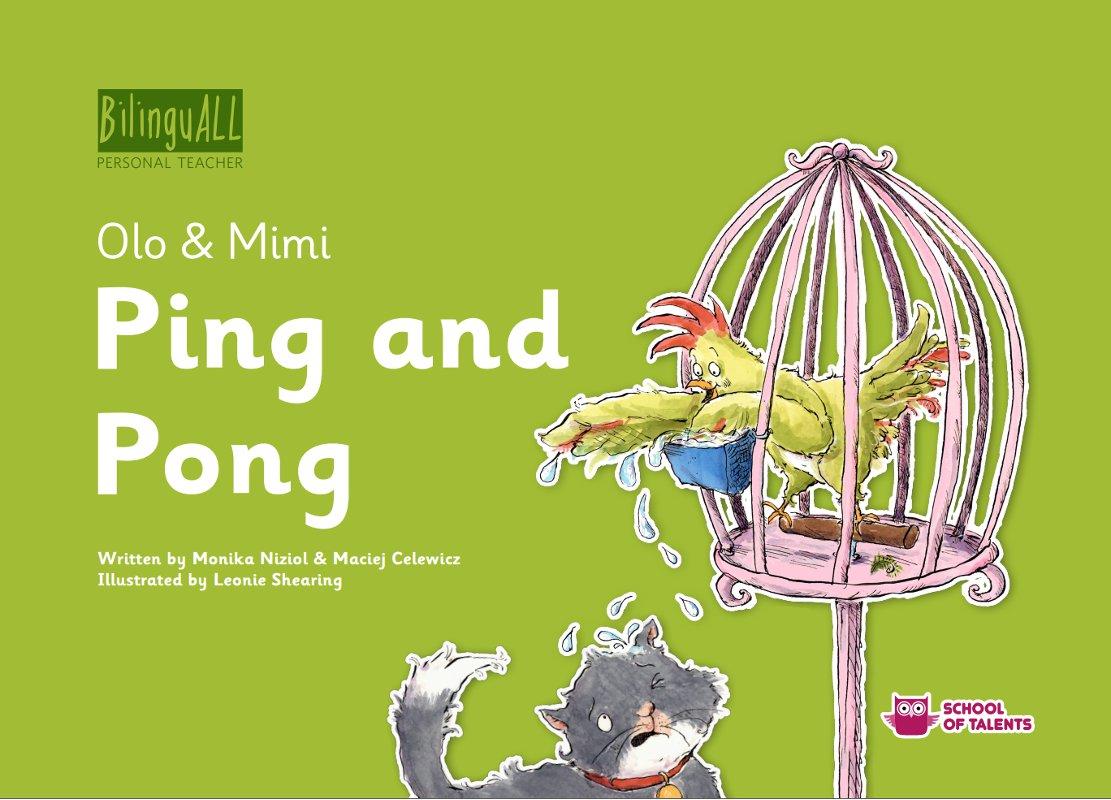 Ping and Pong. Nauka angielskiego dla dzieci 2-7 lat - Ebook (Książka na Kindle) do pobrania w formacie MOBI