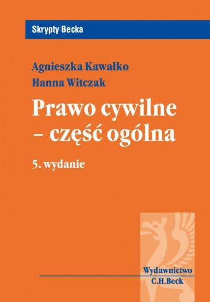Prawo cywilne - część ogólna. Wydanie 5 - Ebook (Książka PDF) do pobrania w formacie PDF