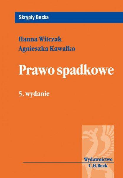Prawo spadkowe. Wydanie 5 - Ebook (Książka PDF) do pobrania w formacie PDF