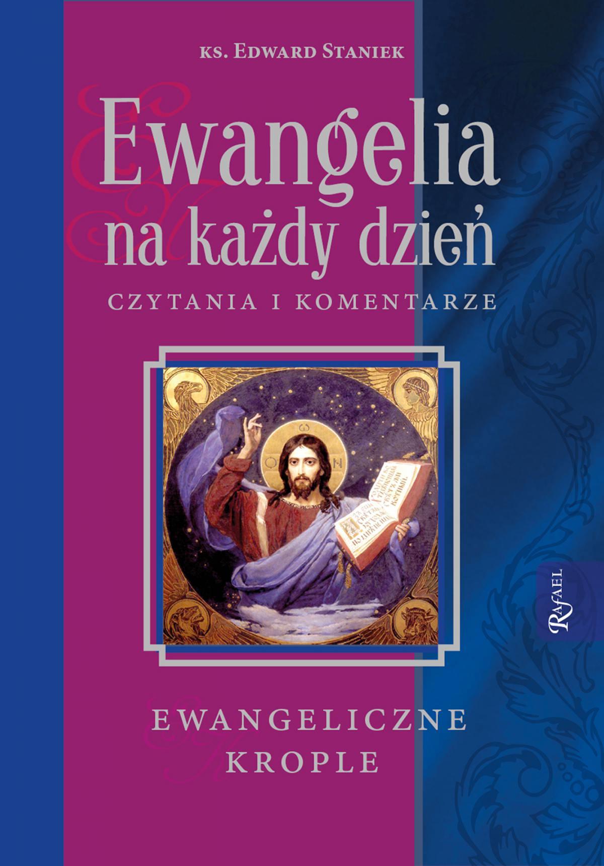 Ewangelia na każdy dzień. Czytania i komentarze - ewangeliczne krople - Ebook (Książka na Kindle) do pobrania w formacie MOBI