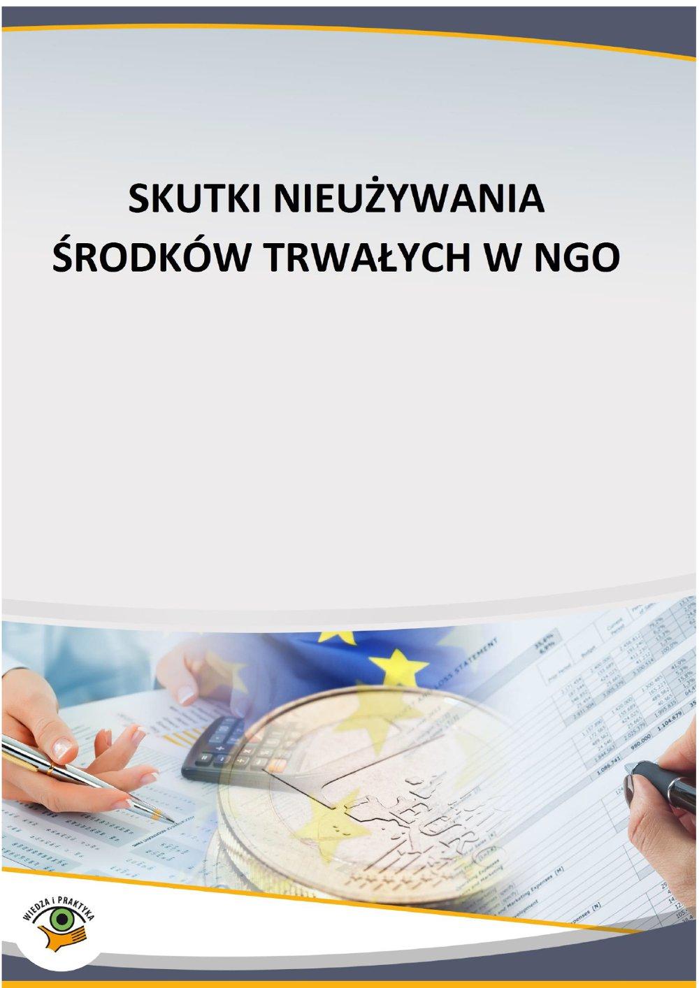 Skutki nieużywania środków trwałych w NGO - Ebook (Książka PDF) do pobrania w formacie PDF