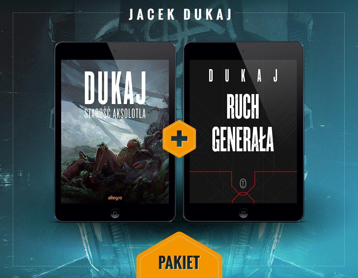 Starość aksolotla i Ruch generała. Pakiet - Ebook (Książka EPUB) do pobrania w formacie EPUB