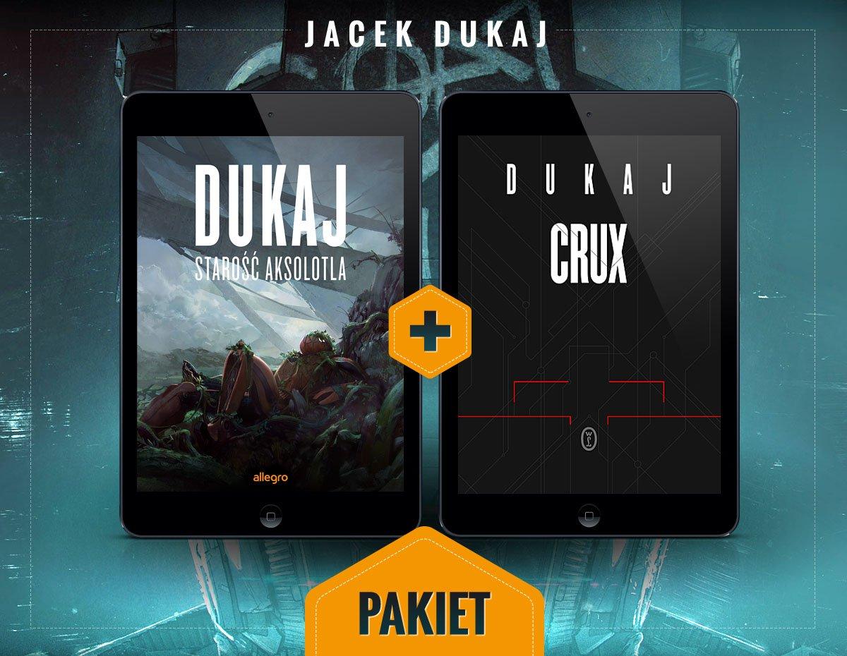 Crux i Starość aksolotla. Pakiet - Ebook (Książka na Kindle) do pobrania w formacie MOBI