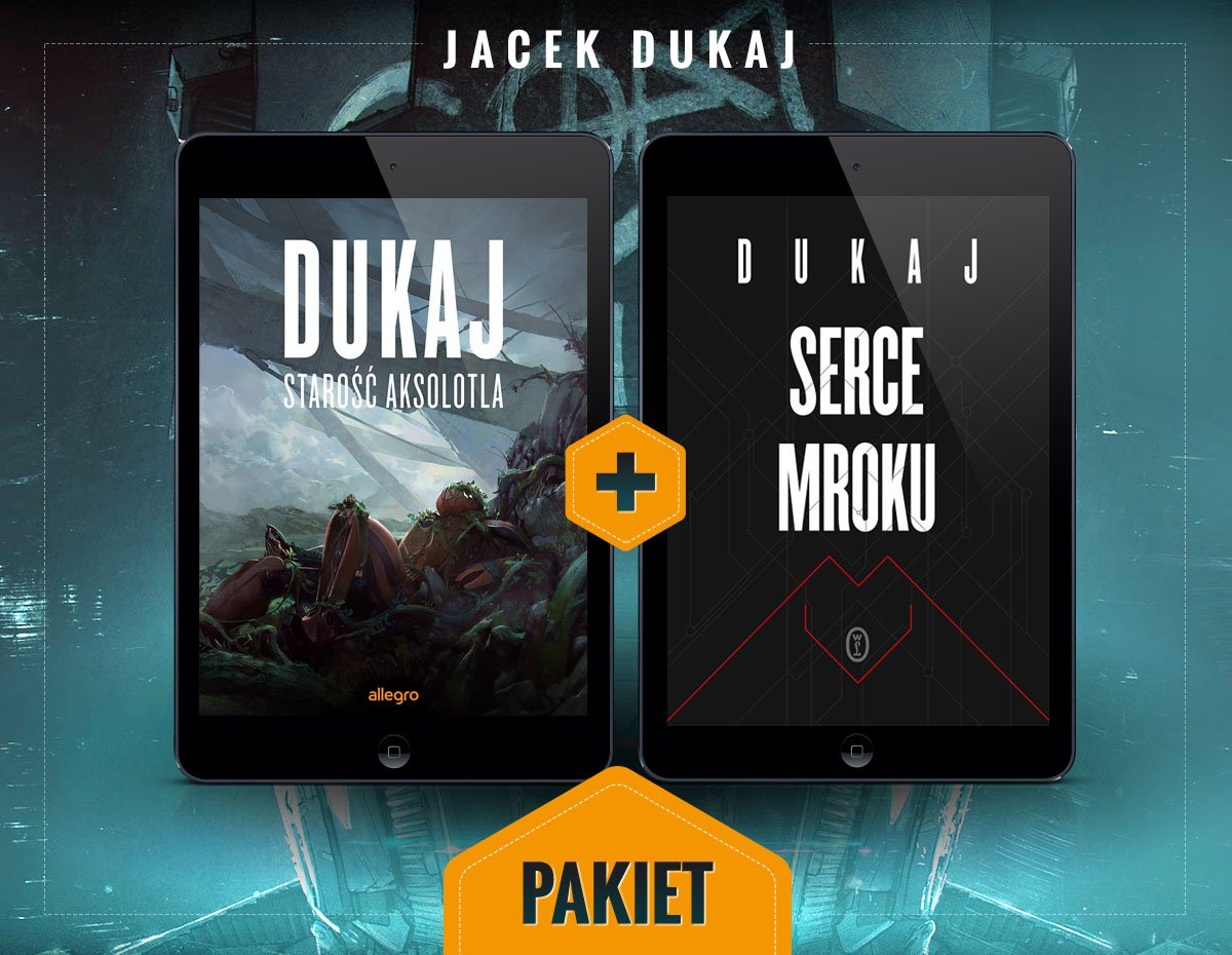 Starość aksolotla i Serce mroku. Pakiet - Ebook (Książka EPUB) do pobrania w formacie EPUB