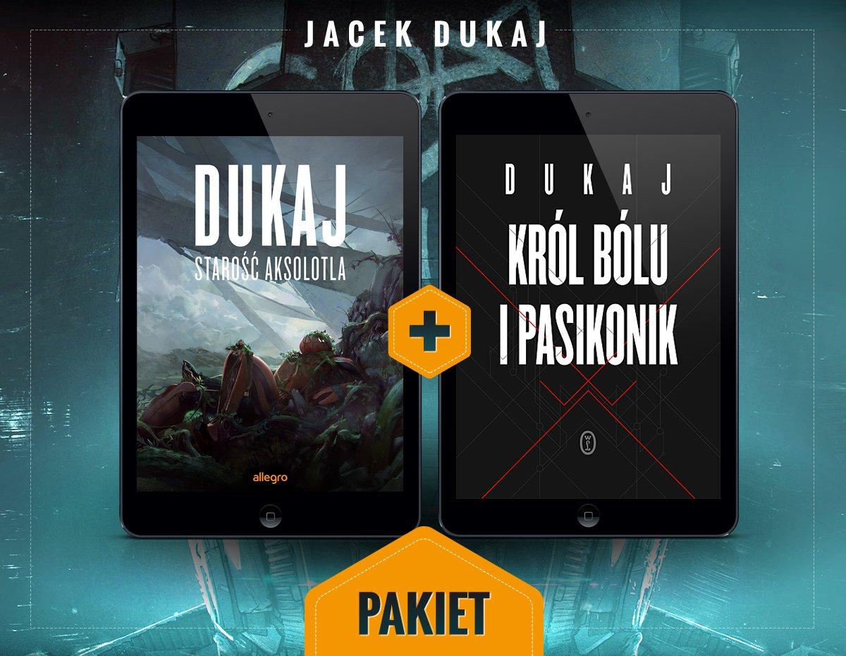 Starość aksolotla i Król bólu i pasikonik. Pakiet - Ebook (Książka na Kindle) do pobrania w formacie MOBI