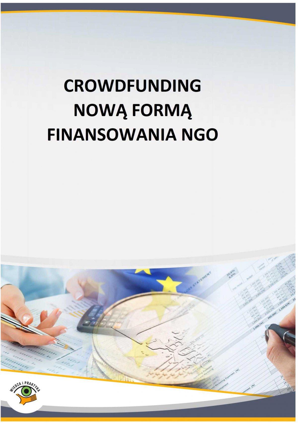 Crowdfunding nową formą finansowania NGO - Ebook (Książka PDF) do pobrania w formacie PDF