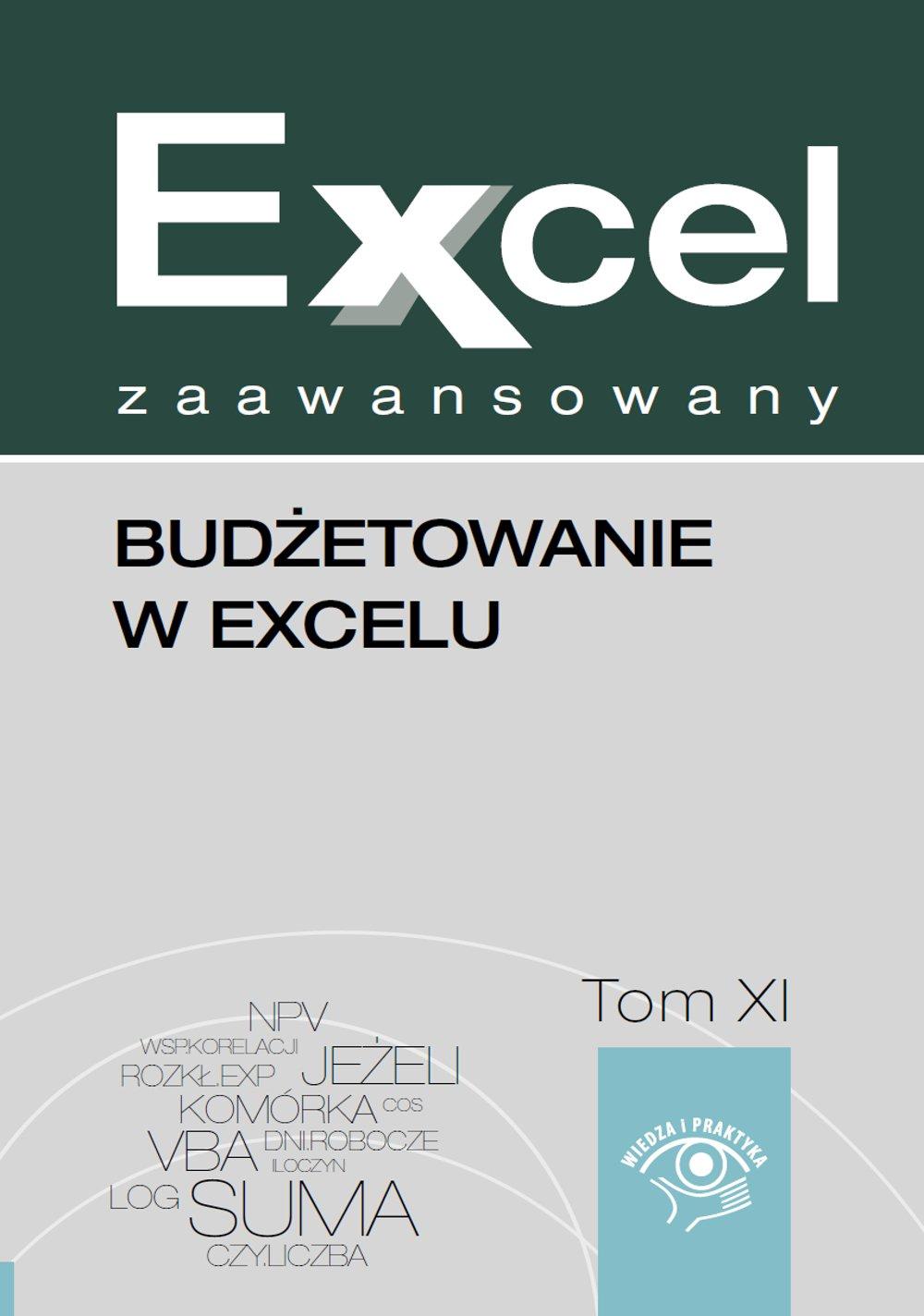 Budżetowanie w Excelu - Ebook (Książka EPUB) do pobrania w formacie EPUB