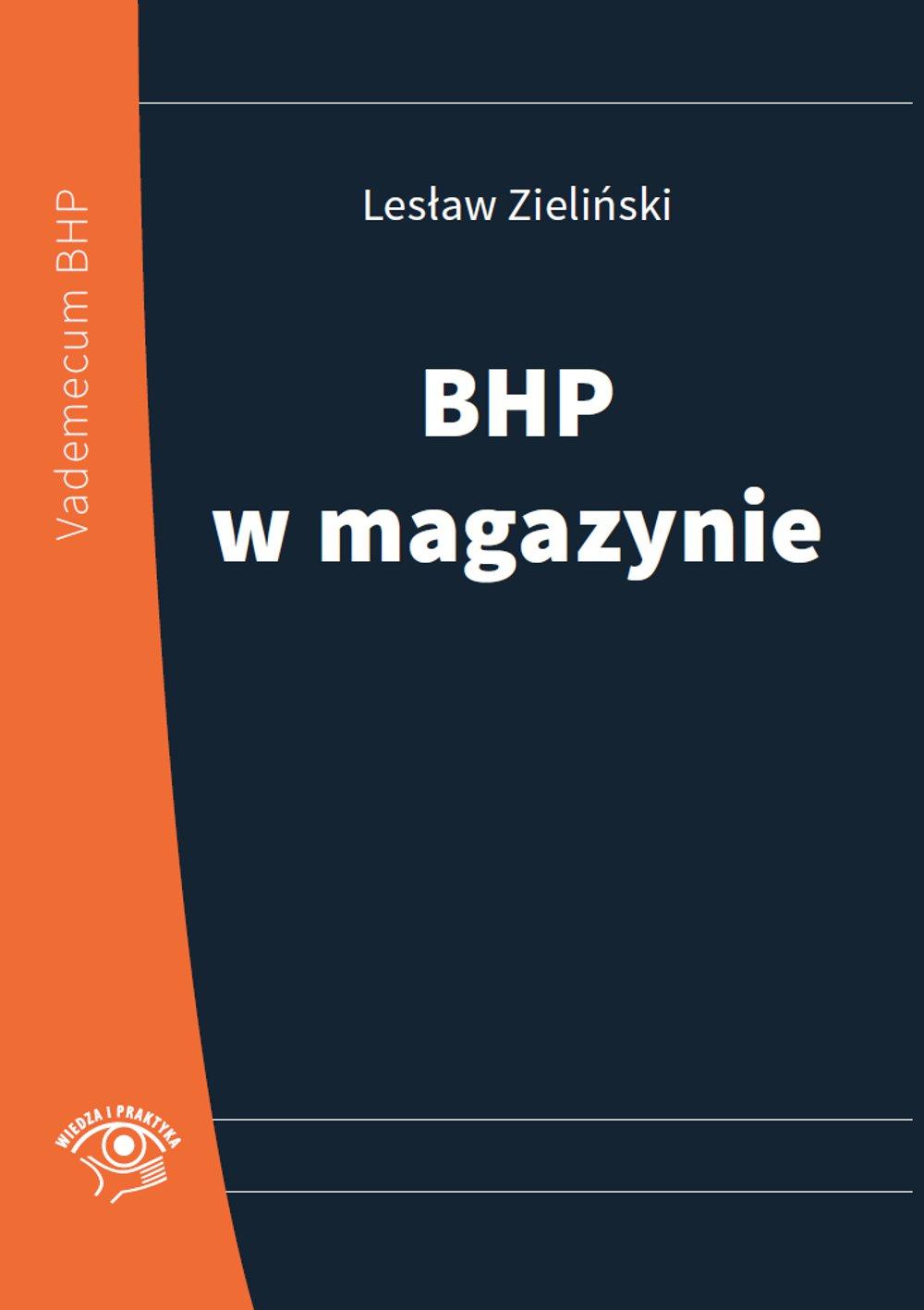 BHP w magazynie - Ebook (Książka PDF) do pobrania w formacie PDF