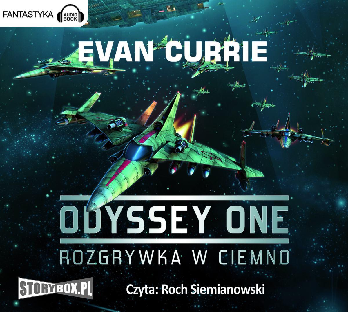 Odyssey One. Tom 1 Rozgrywka w ciemno - Audiobook (Książka audio MP3) do pobrania w całości w archiwum ZIP