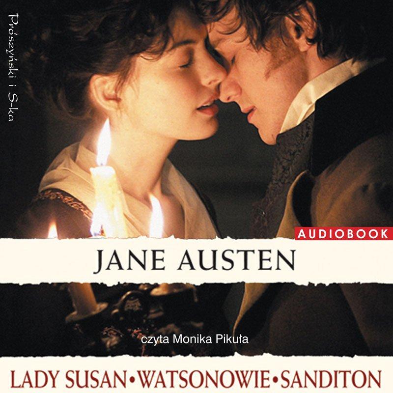 Lady Susan. Watsonowie. Sanditon - Audiobook (Książka audio MP3) do pobrania w całości w archiwum ZIP