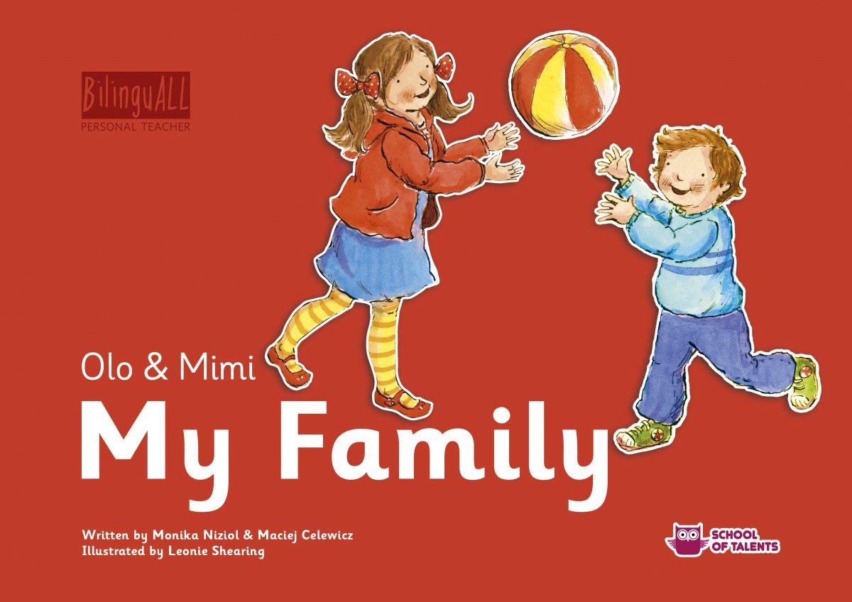 My Family. Nauka angielskiego dla dzieci 2-7 lat - Audiobook (Książka audio MP3) do pobrania w całości w archiwum ZIP