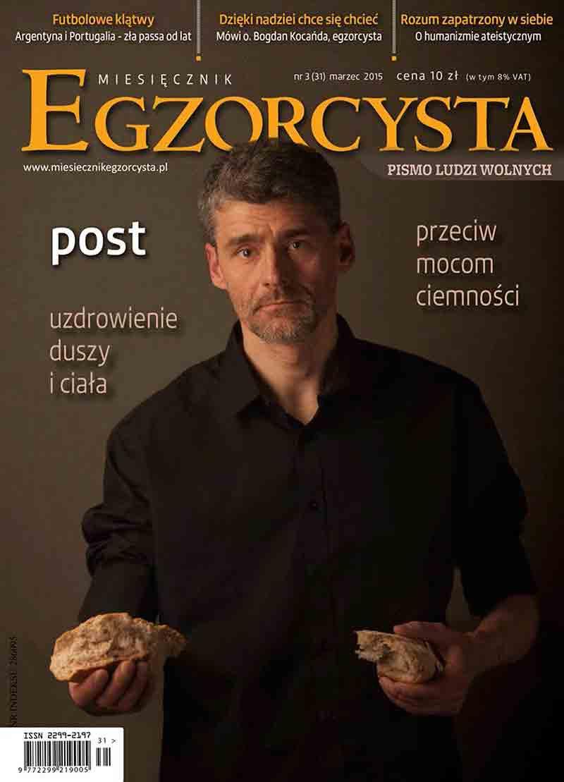 Miesięcznik Egzorcysta. Marzec 2015 - Ebook (Książka PDF) do pobrania w formacie PDF