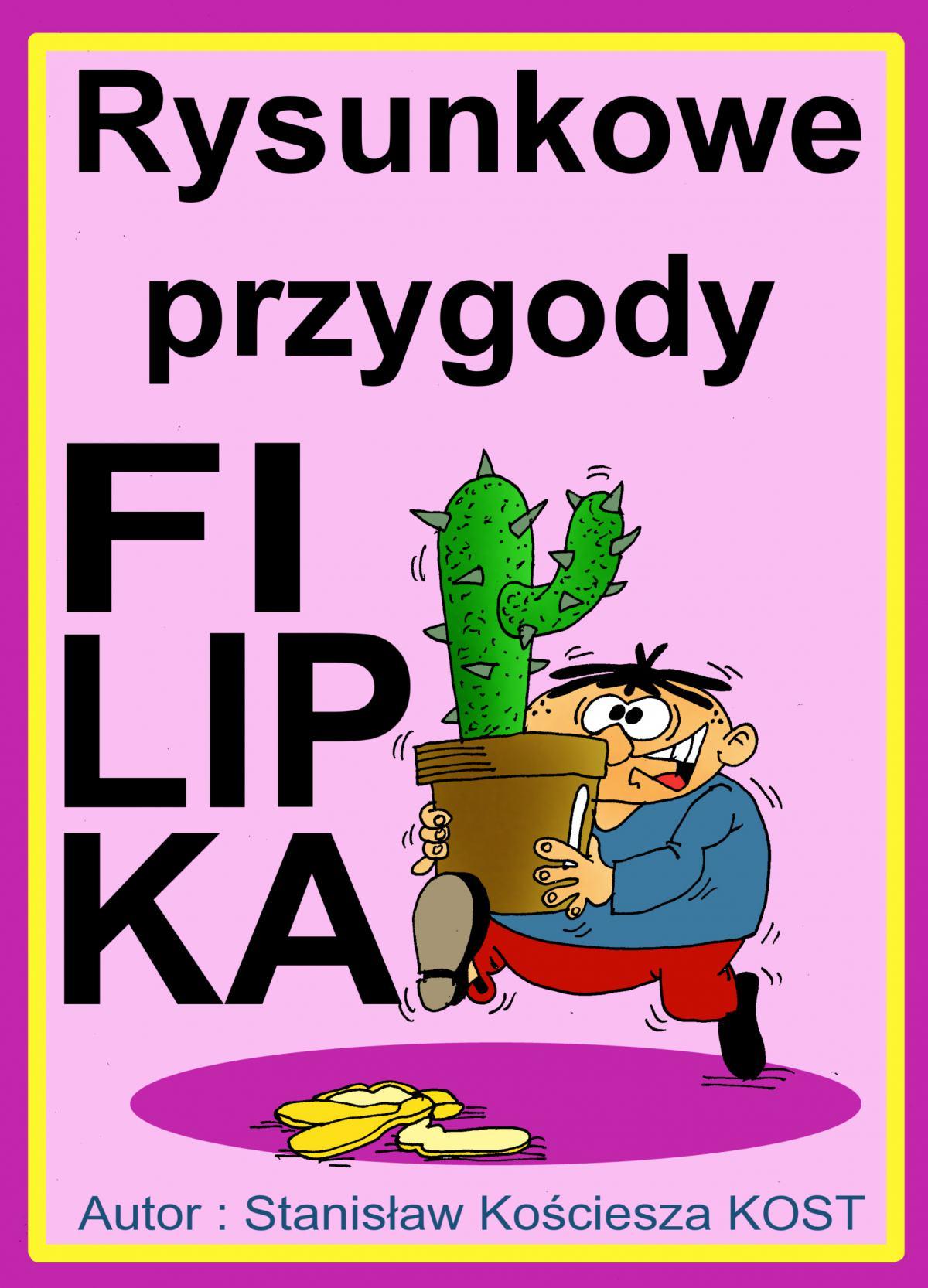 Rysunkowe przygody Filipka - Ebook (Książka PDF) do pobrania w formacie PDF