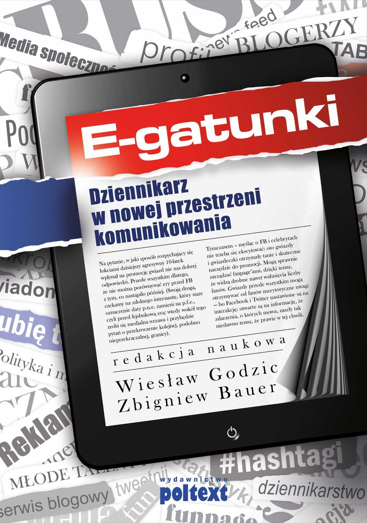 E-gatunki dziennikarskie - Ebook (Książka PDF) do pobrania w formacie PDF
