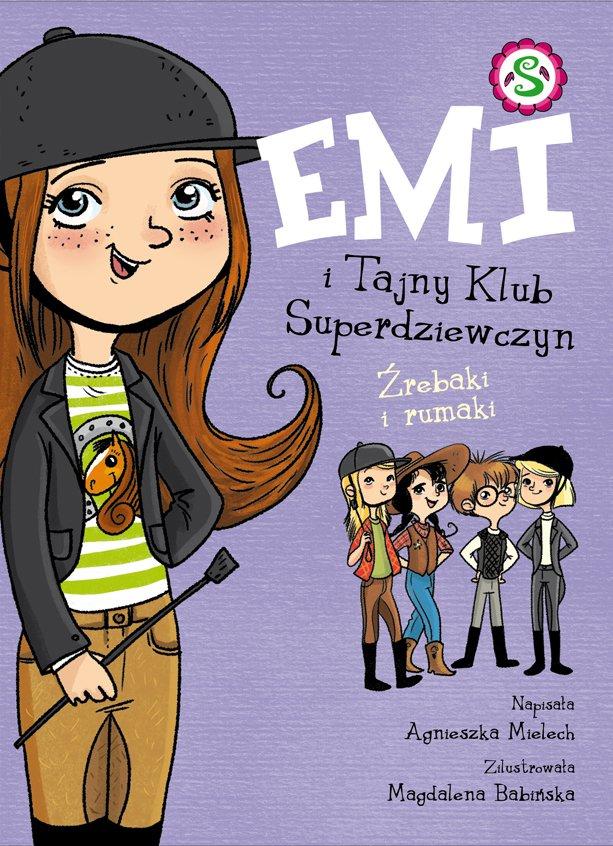 Emi i Tajny Klub Superdziewczyn. Źrebaki i rumaki - Ebook (Książka EPUB) do pobrania w formacie EPUB