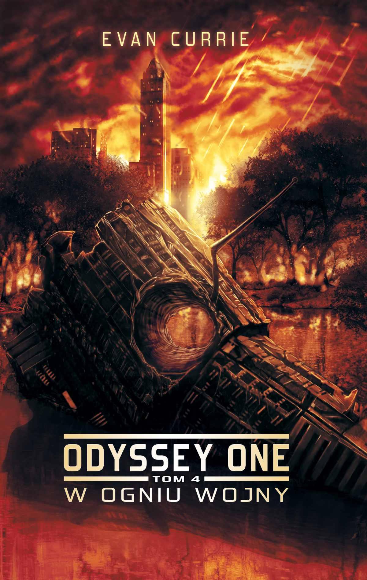 Odyssey One. Tom 4. W ogniu wojny - Ebook (Książka EPUB) do pobrania w formacie EPUB