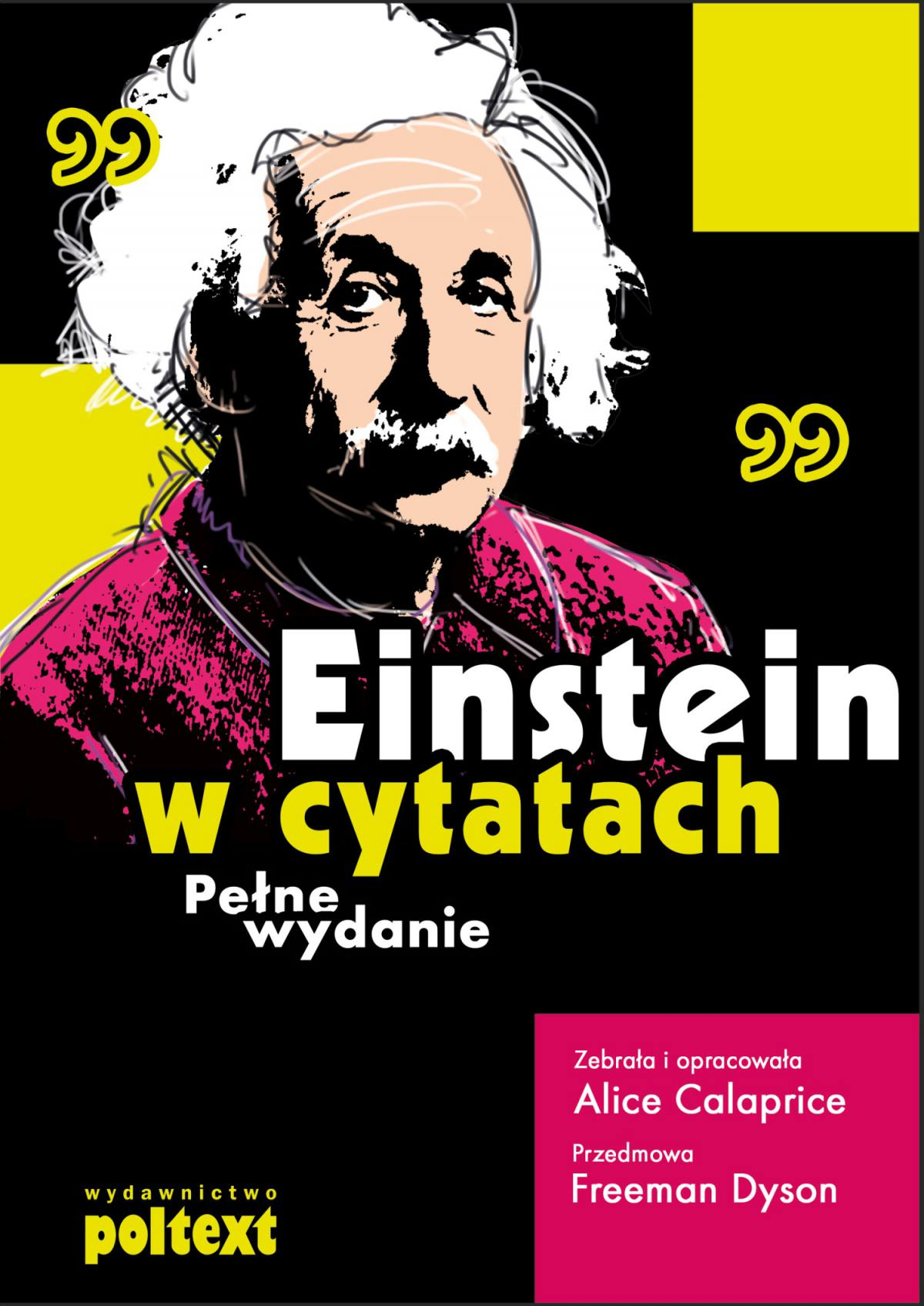 Einstein w cytatach - Ebook (Książka PDF) do pobrania w formacie PDF