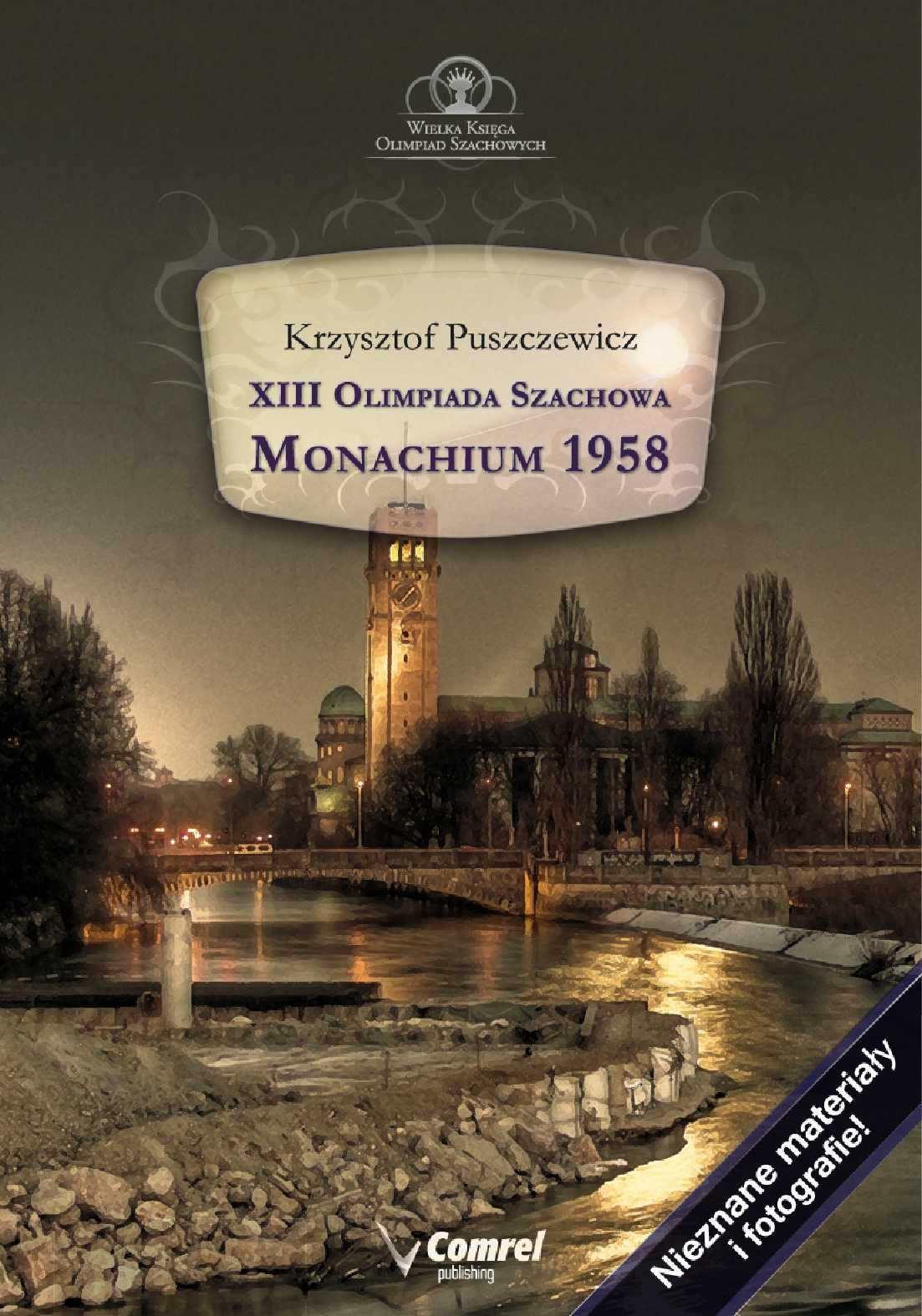XIII Olimpiada Szachowa - Monachium 1958 - Ebook (Książka PDF) do pobrania w formacie PDF