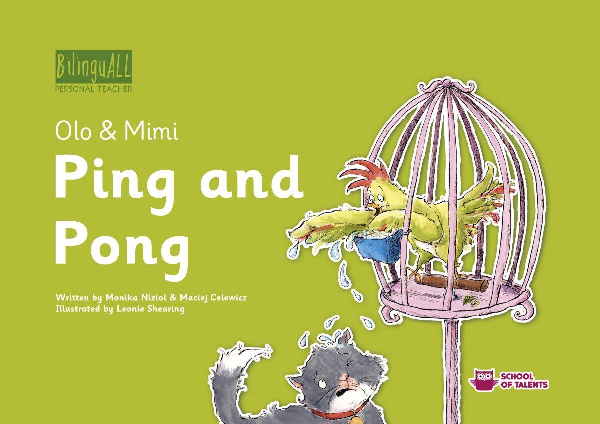 Ping and Pong. Nauka angielskiego dla dzieci 2-7 lat - Audiobook (Książka audio MP3) do pobrania w całości w archiwum ZIP