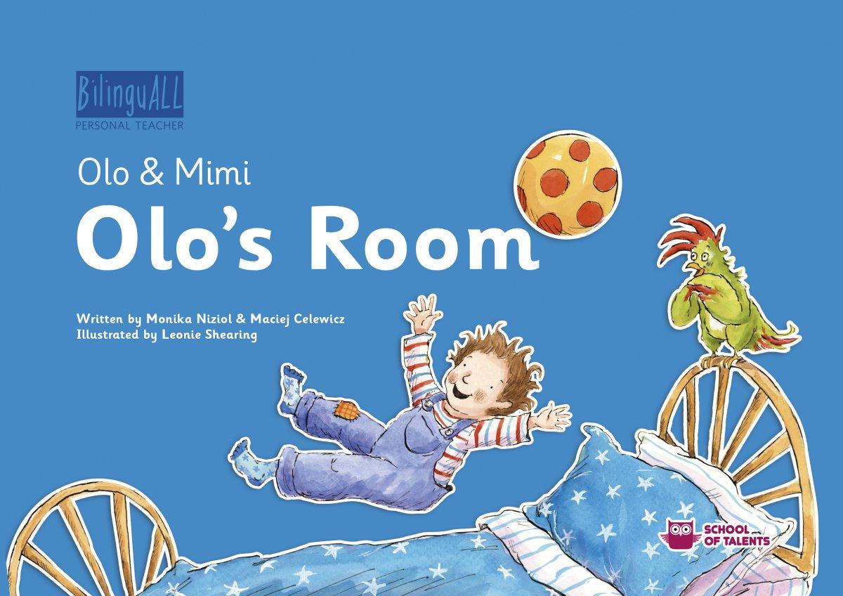Olo's Room. Nauka angielskiego dla dzieci 2-7 lat - Audiobook (Książka audio MP3) do pobrania w całości w archiwum ZIP