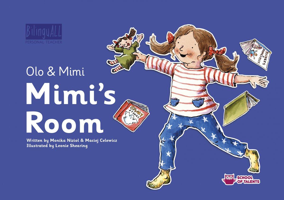Mimi's Room. Nauka angielskiego dla dzieci 2-7 lat - Audiobook (Książka audio MP3) do pobrania w całości w archiwum ZIP
