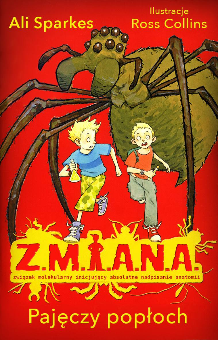 Z.M.I.A.N.A. Pajęczy popłoch - Ebook (Książka EPUB) do pobrania w formacie EPUB