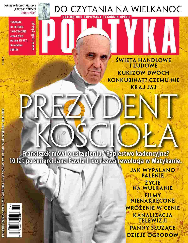 Polityka nr 14/2015 - Ebook (Książka PDF) do pobrania w formacie PDF