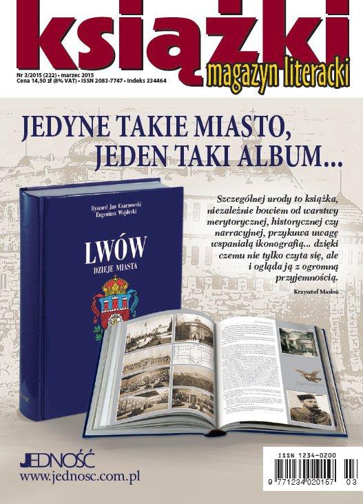 Magazyn Literacki KSIĄŻKI 3/2015 - Ebook (Książka PDF) do pobrania w formacie PDF