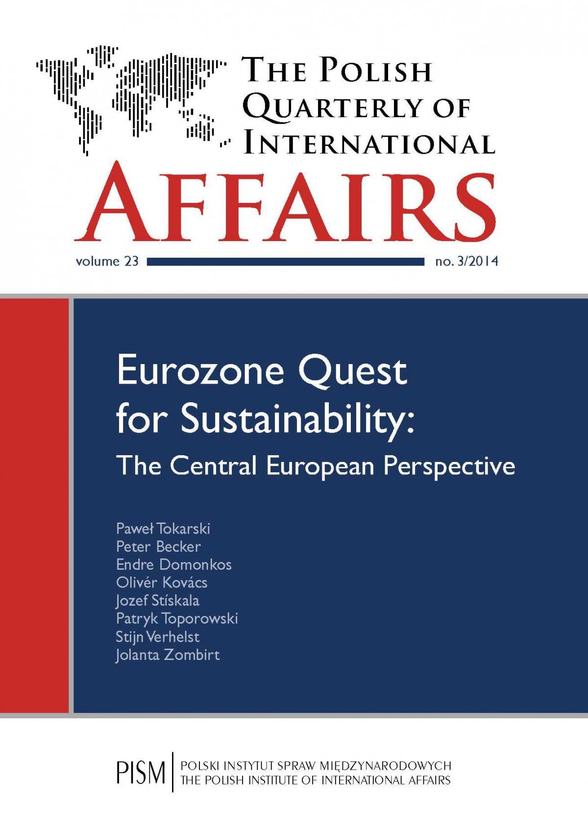 The Polish Quarterly of International Affairs 3/2014 - Ebook (Książka PDF) do pobrania w formacie PDF