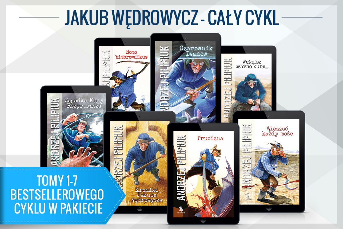 Jakub Wędrowycz - cykl 7 ebooków - Ebook (Książka EPUB) do pobrania w formacie EPUB